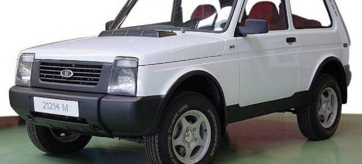 Фото неизвестной версии Lada 4×4 появилось в сети