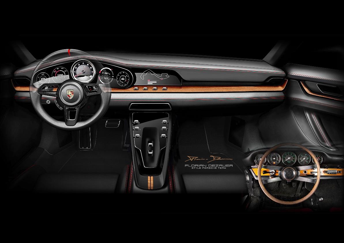 Porsche дизайн