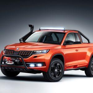 Эффектный концепт-кар Škoda Mountiaq - впечатляющий результат работы студентов