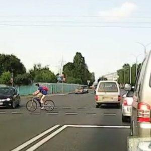 ДТП на пешеходном переходе: неспешившийся велосипедист - беда для водителя