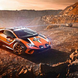 Cуперкар Lamborghini Huracan Sterrato Concept покоряет новые горизонты