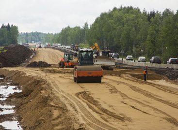 В декабре текущего года планируют закончить строительство двух участков ЦКАД