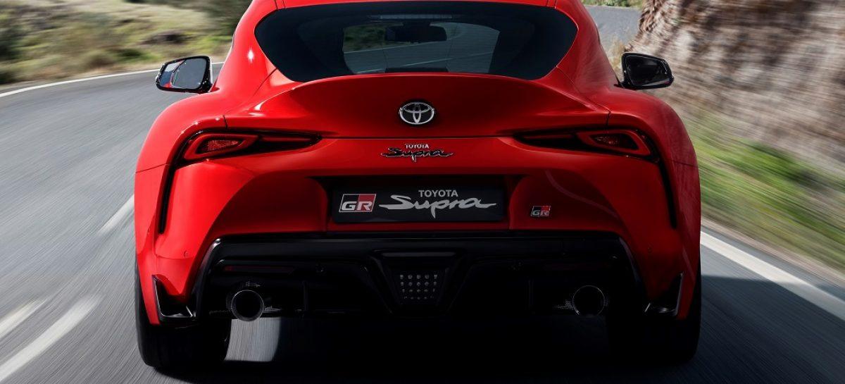 Новая Toyota Supra доступна для заказа в России