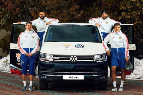 Компания Volkswagen стала официальным спонсором Сборной России по футболу