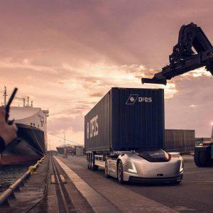 Беспилотный тягач Volvo Vera задействовали для транспортировки грузов в Швеции