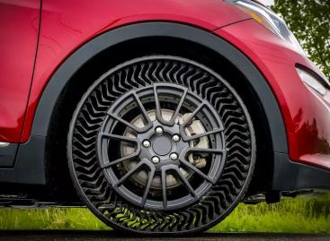 Инновационные безвоздушные шины Michelin будут устанавливать на серийные автомобили