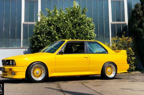 Автотюнеры подарили вторую жизнь BMW M3 DTM Edition 1990 года выпуска