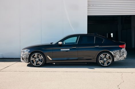 Новый электрокар BMW построили на базе седана 5 серии