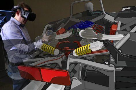 Дизайнеры Ford смогут создавать 3D-модели будущих автомобилей в режиме виртуальной реальности
