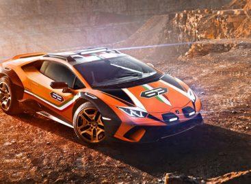 Выпуск нового Lamborghini Huracan Sterrato планируется в 2021 году