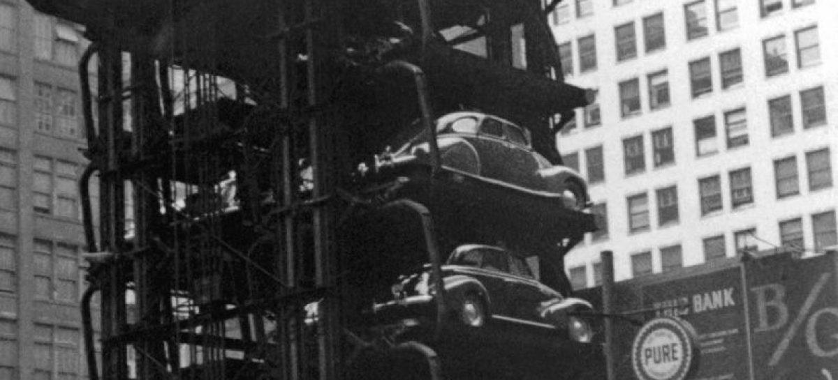 Какими были парковки в прошлом веке