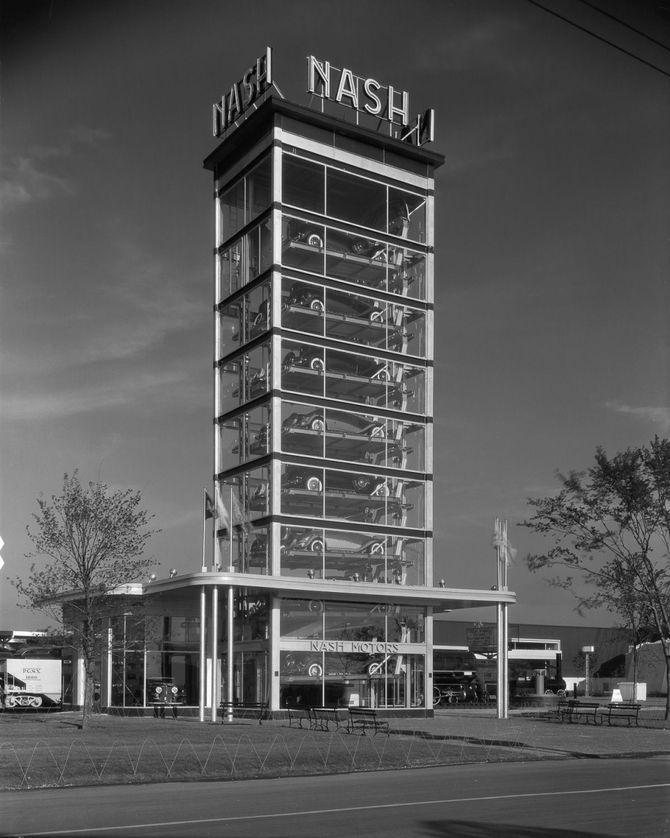 парковка Nash Motors