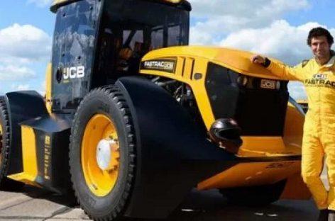 Трактор JCB Fastrac установил новый рекорд скорости