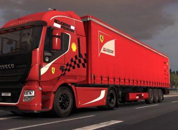 В грузовике Scuderia Ferrari обнаружили двух незваных гостей