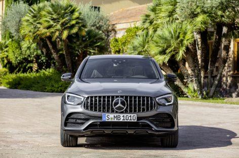 Новые модели Mercedes-AMG GLC 43 4MATIC