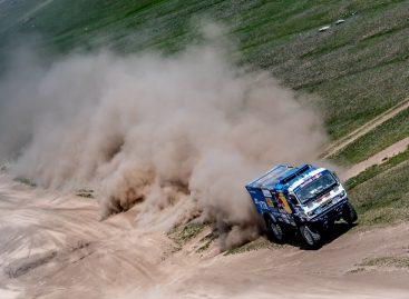 Команда КАМАЗ-мастер одержала первую победу в Монголии