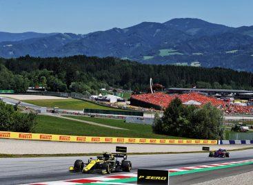 Renault F1 Team на Гран-при Австрии