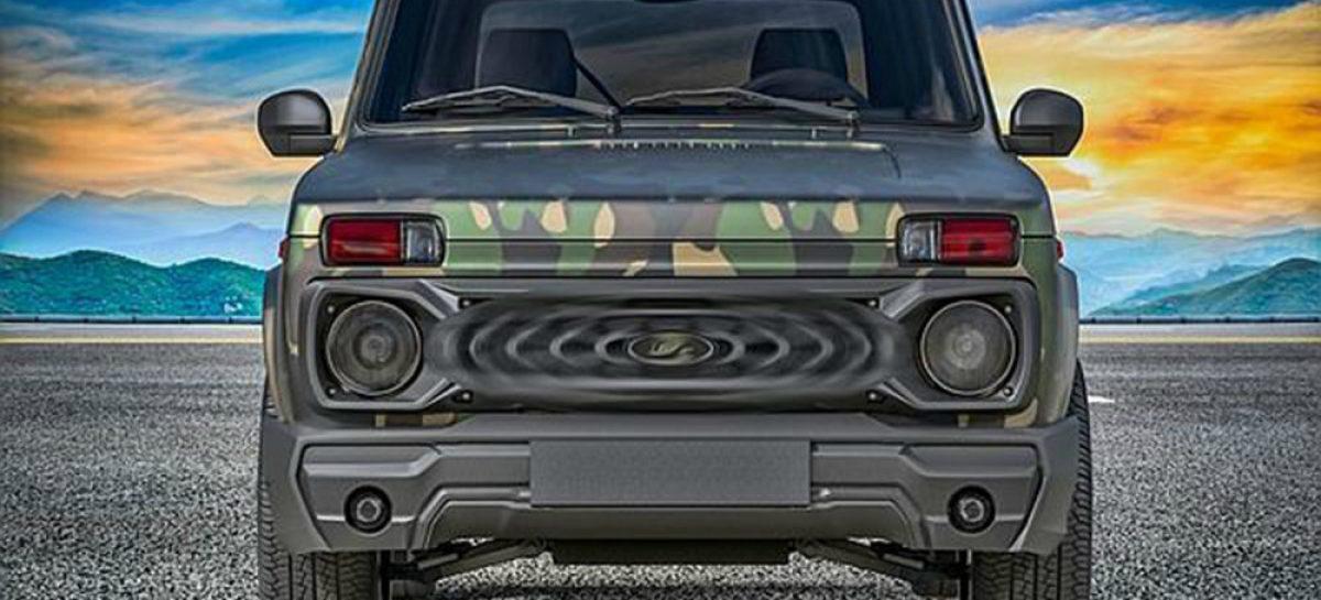 Внедорожник LADA 4×4 Bronto получит обновленную версию