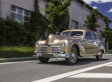 Коллекцию музея Škoda пополнил отреставрированный Superb OHV 1948 года выпуска
