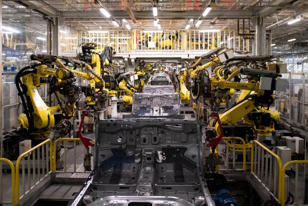 Завод Хендэ Мотор Мануфактуринг Рус