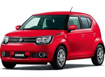 Suzuki выпустила обновленную версию Ignis с автоматическим торможением