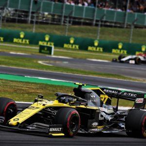 Команда Renault F1 Team успешно выступила на Гран-При Великобритании