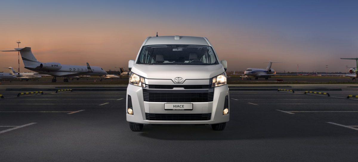 Стартует прием заказов на шестое поколение Toyota Hiace