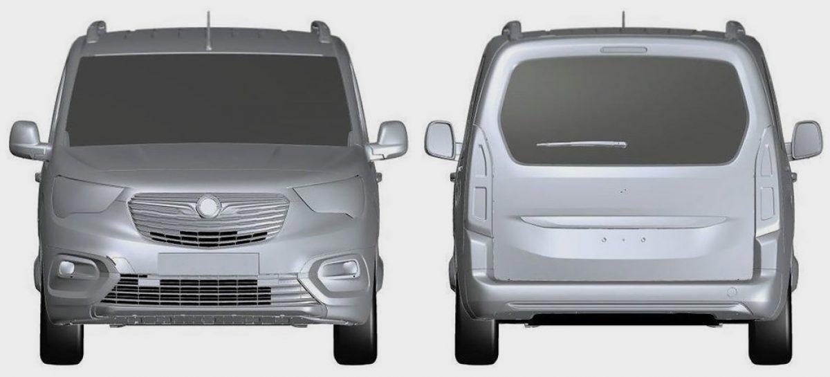 Opel запатентовал модель Combo Life для России