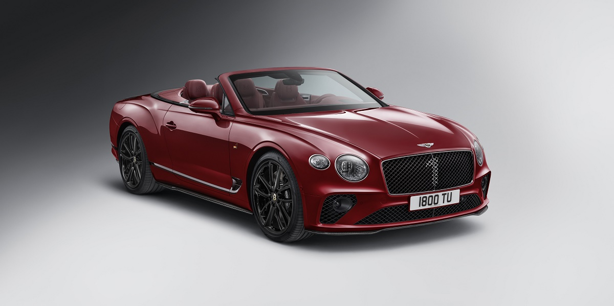 Continental GT Convertible Number 1 Edition by Mulliner (2)
