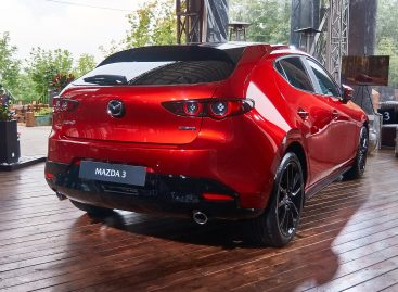 Премьера Mazda3 – тише, мягче и комфортнее
