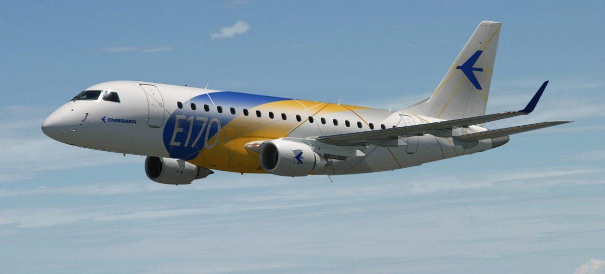 Пассажирский самолет Embraer E170 получит новые авиашины Michelin Air X