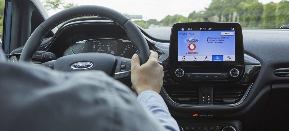 Ford и Vodafone помогут сократить время на поиск свободного парковочного места