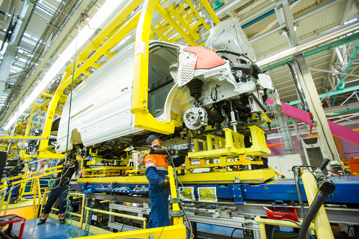 Ford Transit_production
