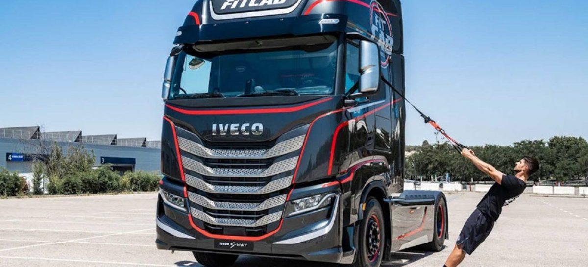 Iveco Fit Cab – грузовой автомобиль с тренажерами для фитнеса