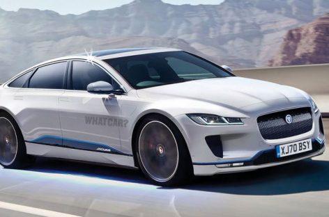 Седан Jaguar XJ получит электрифицированную версию
