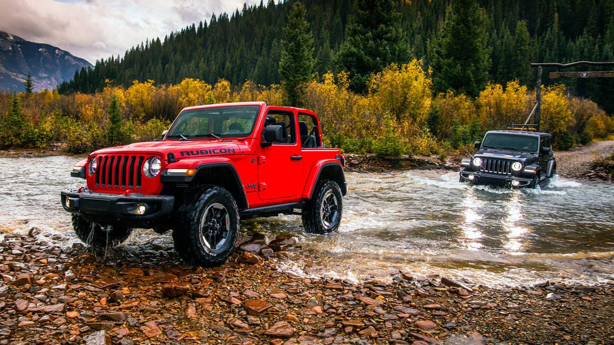 Jeep Wrangler 4-ого поколения