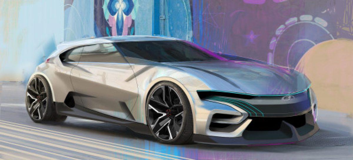 Концепт автомобиля Lada X-Flow появился в Сети