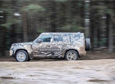 Компания Jaguar Land Rover представляет прототип Defender  на Фестивале скорости в Гудвуде
