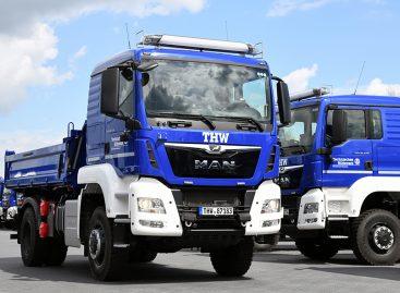 Новые грузовые автомобили MAN для THW