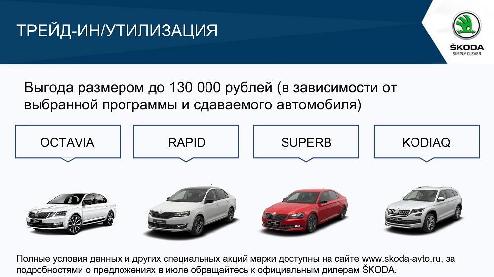 Привлекательные предложения для клиентов SKODA в июле (3)