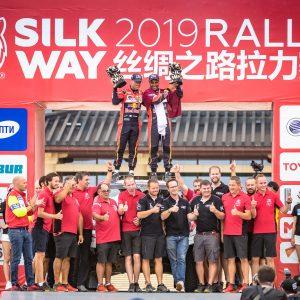«Шёлковый путь - 2019» финишировал в Дуньхуане!