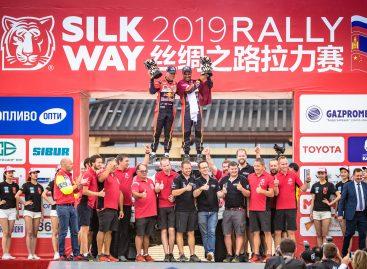 «Шёлковый путь – 2019» финишировал в Дуньхуане!