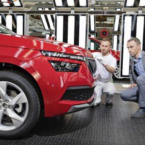 Стартовало производство нового Škoda Kamiq