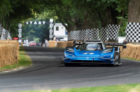 Volkswagen ID.R установил абсолютный рекорд Фестиваля скорости в Гудвуде