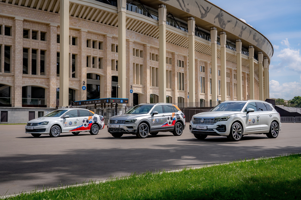 Volkswagen Polo, Volkswagen Tiguan, Volkswagen Touareg