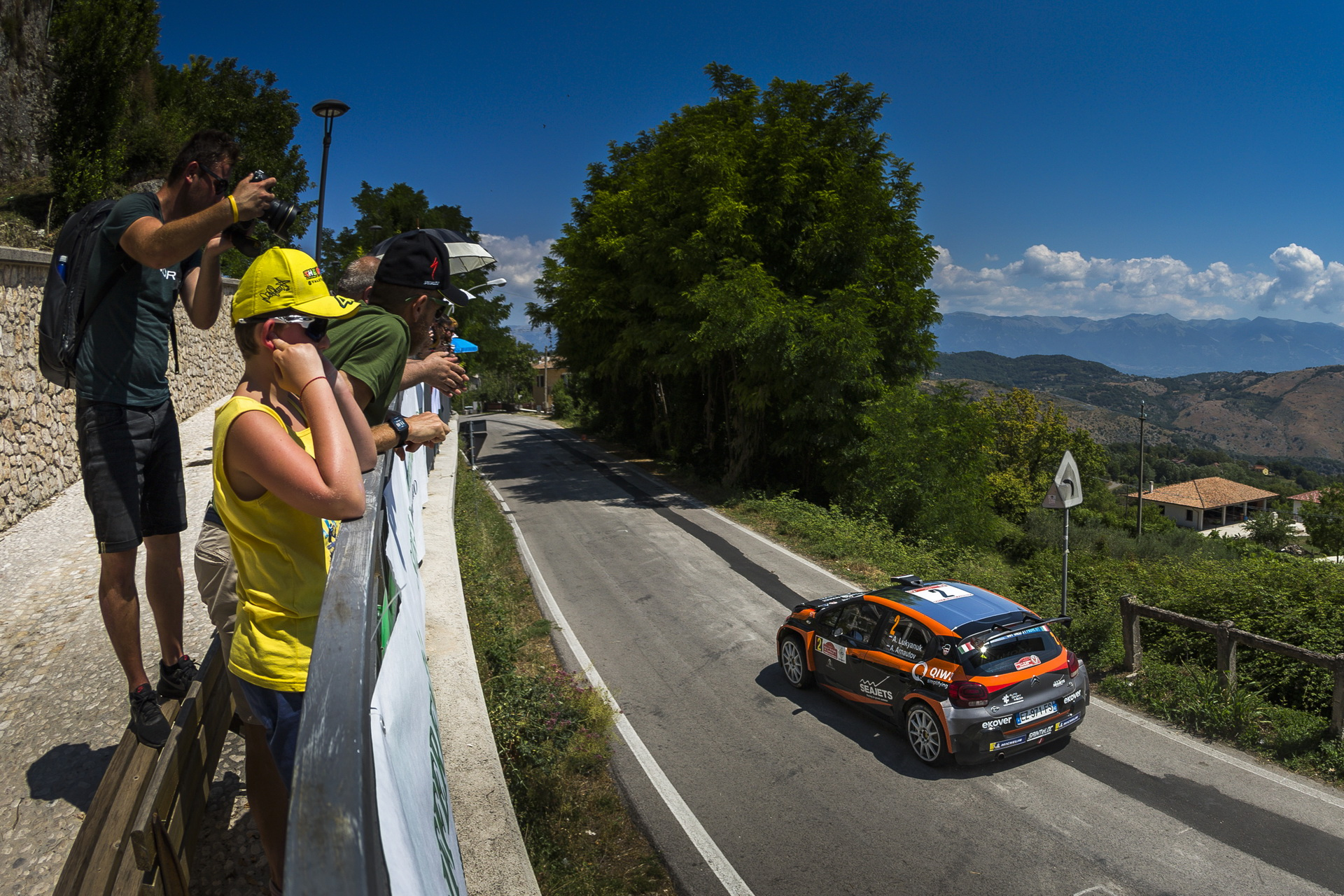 пятый этап чемпионата Европы по ралли. Rally di Roma Capitale