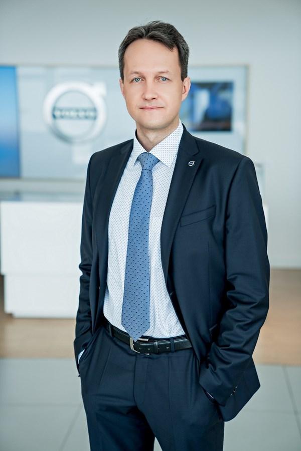 директор по продажам Volvo Car Russia Алексей Тарасов.