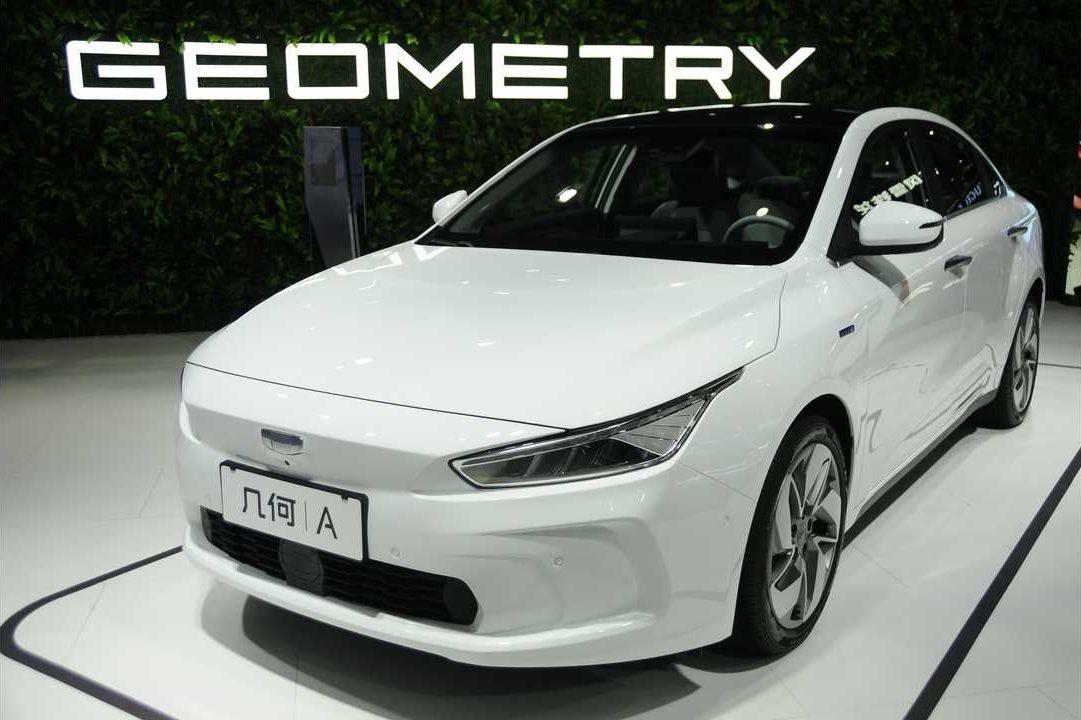Geometry A электромобиль от Geely