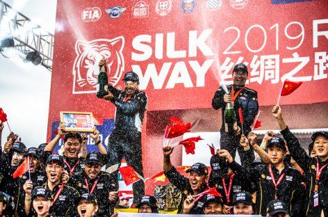 Гоночная команда Geely заняла почетное второе место в ралли «Шелковый путь-2019»