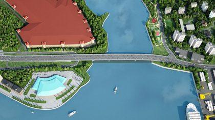 проект моста в г. Москва